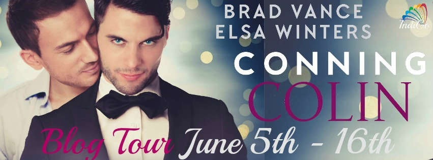 Interview, Excerpt & Giveaway: Brad Vance & Elsa Winters - Conning Colin