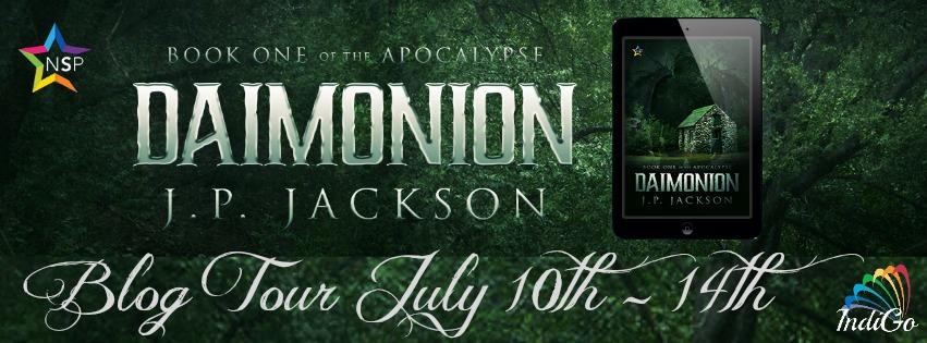 Blog Tour: Guestpost, Excerpt & Giveaway  J.P. Jackson - Daimonion