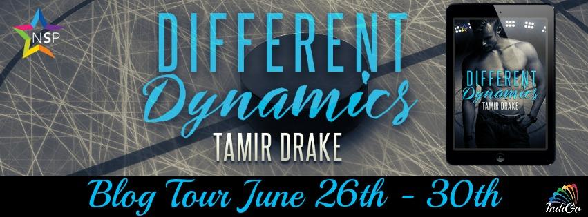 Blog Tour: Guestpost, Excerpt & Giveaway Tamir Drake - Different Dynamics