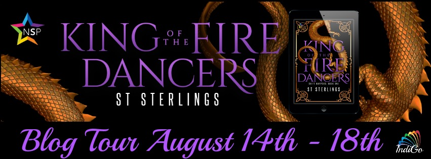 Blog Tour: Guestpost , Excerpt & Giveaway -- ST Sterlings - King of the Fire Dancers