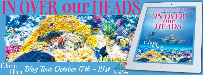 Blog Tour: Intro, Exclusive Excerpt & Giveaway -- CJane Elliott - In Over our Heads