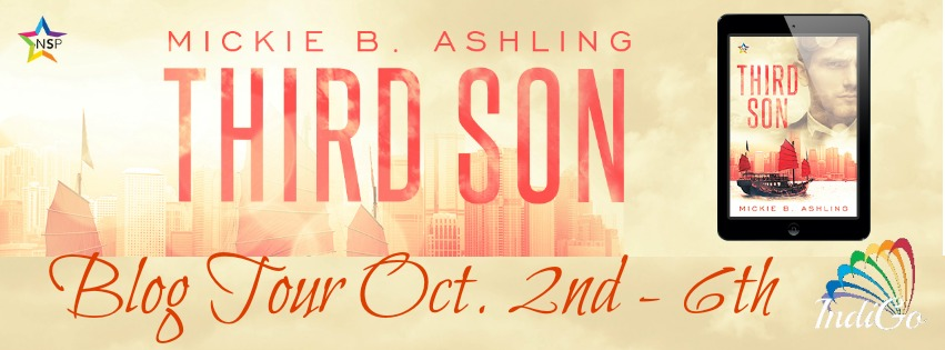 Blog Tour: Exclusive Excerpt & Giveaway -- Mickie B. Ashling - Third Son