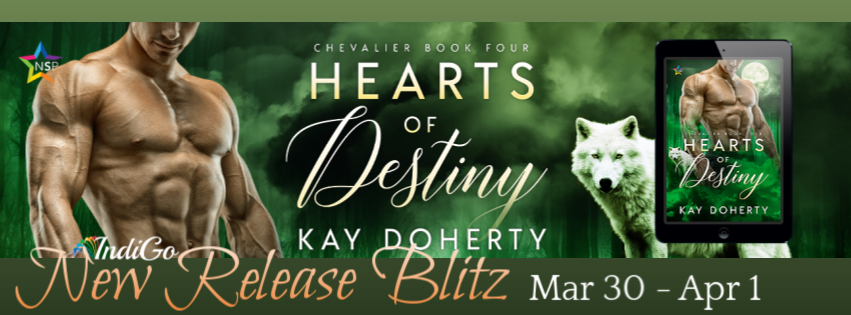 Author – Kay Doherty – Hearts of Destiny – Releases TODAY